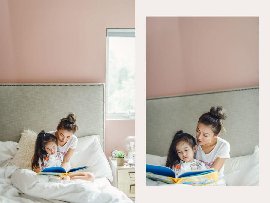 Behr Positively Pink Paint Color // NotJessFashion.com