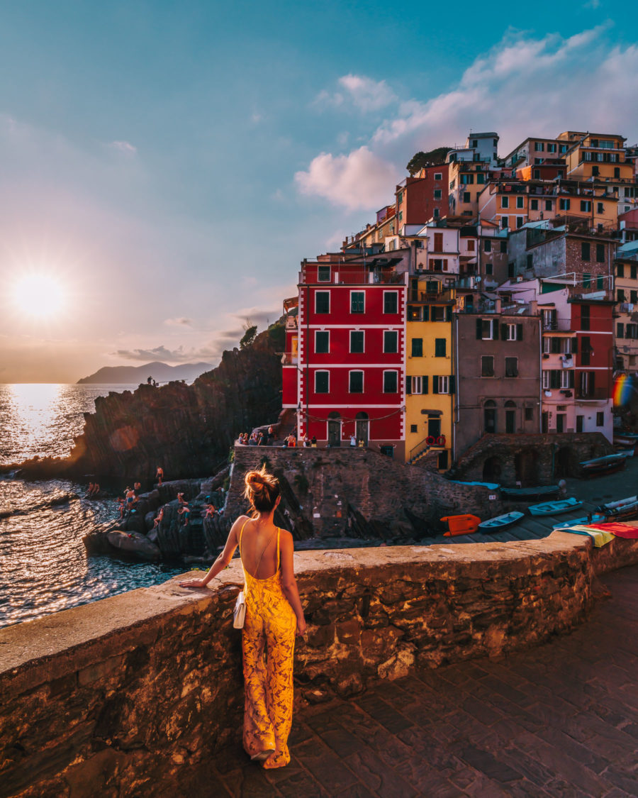 Riomaggiore, Cinque Terre, best photo spots // NotJessFashion.com