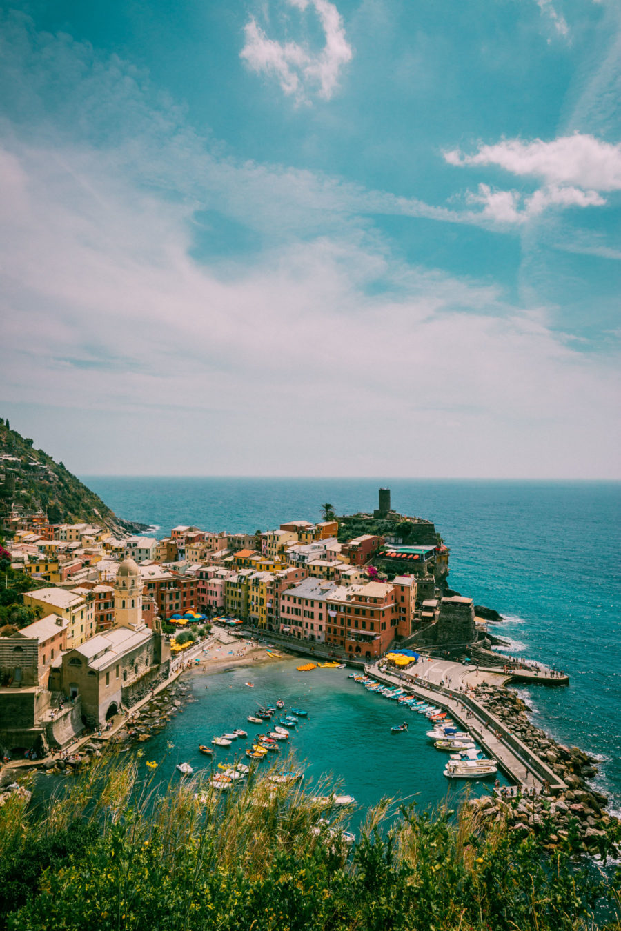 Vernazza, Cinque Terre, best photo spots // NotJessFashion.com
