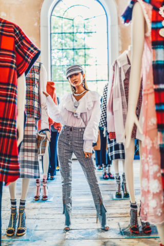 GOING MAD FOR ALL TYPES OF PLAID