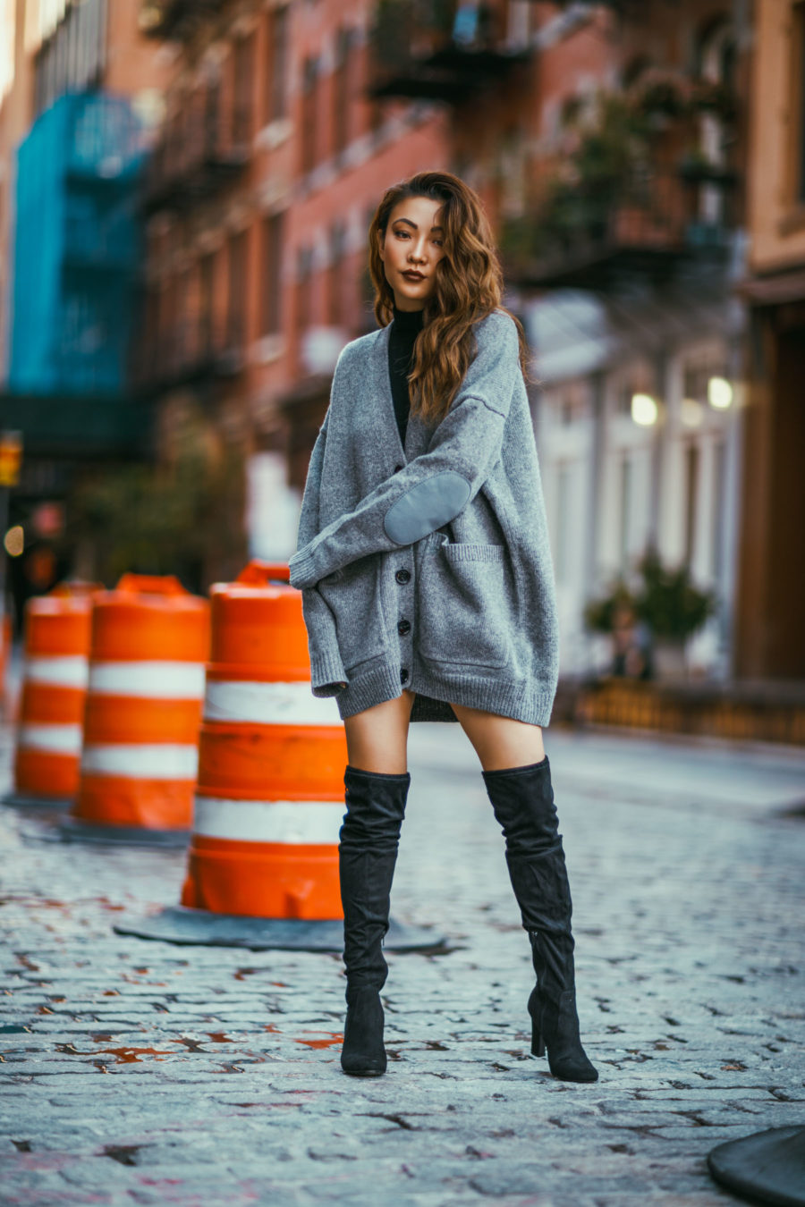 THIGHHIGH BOOTS - Tips for Styling Thigh High Boots - DSW thigh high boots// Notjessfashion.com