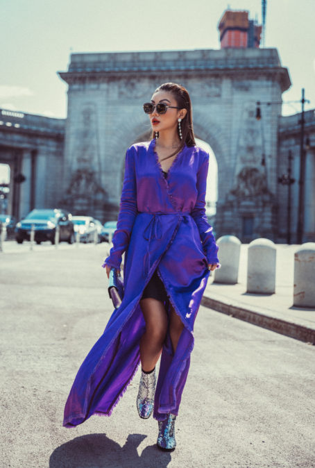 4 PURPLE OUTFITS THAT PROVE THE COLOR IS HERE TO STAY
