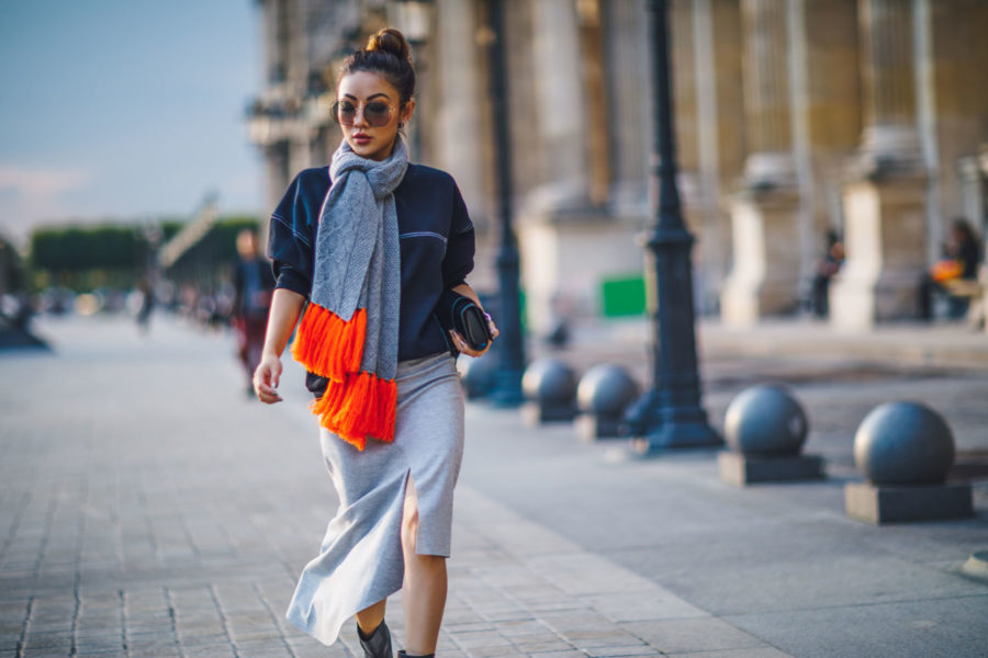 PFW SS18 Day 1 Street Style in Paris // NotJessFashion