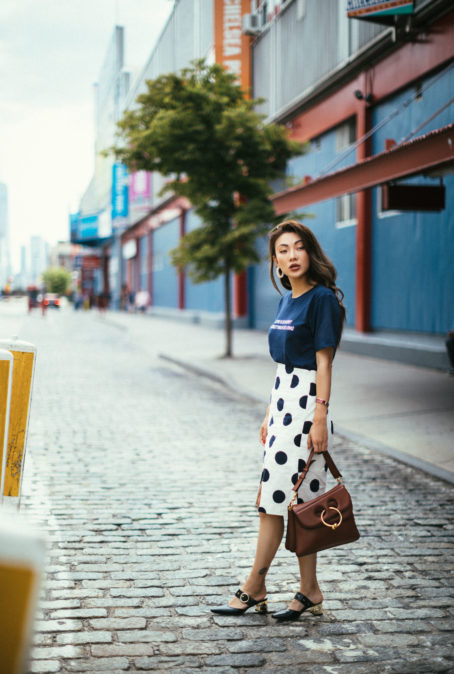 EASY WAYS TO WEAR THE POLKA DOT TREND