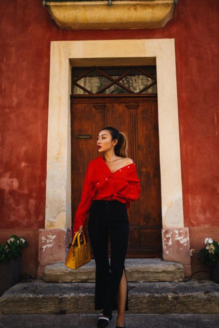 Bold Red Vintage-Inspired Trend // NotJessFashion.com
