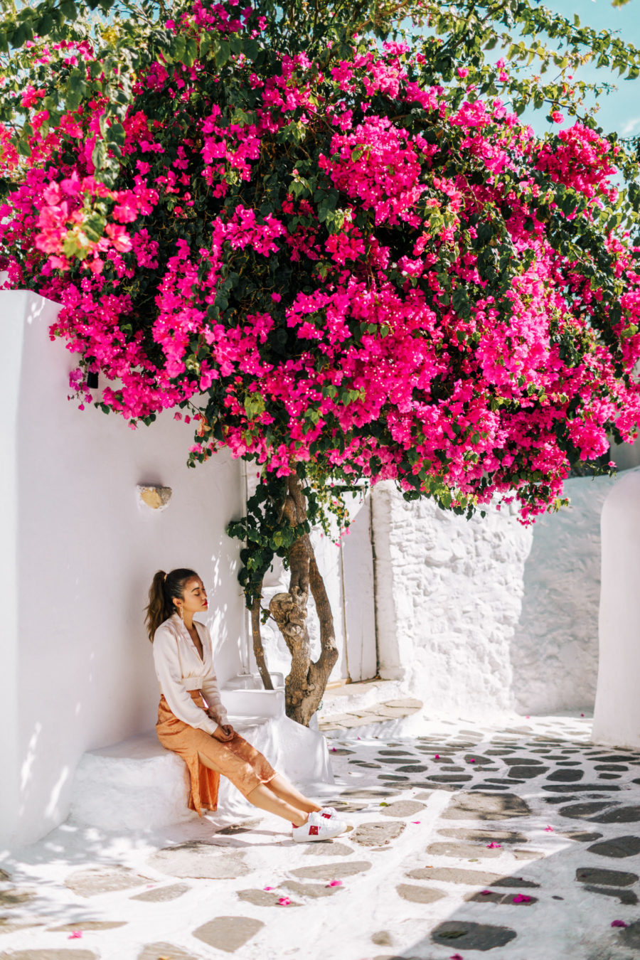 Most Instagrammable Spot In Mykonnos // NotJessFashion.com