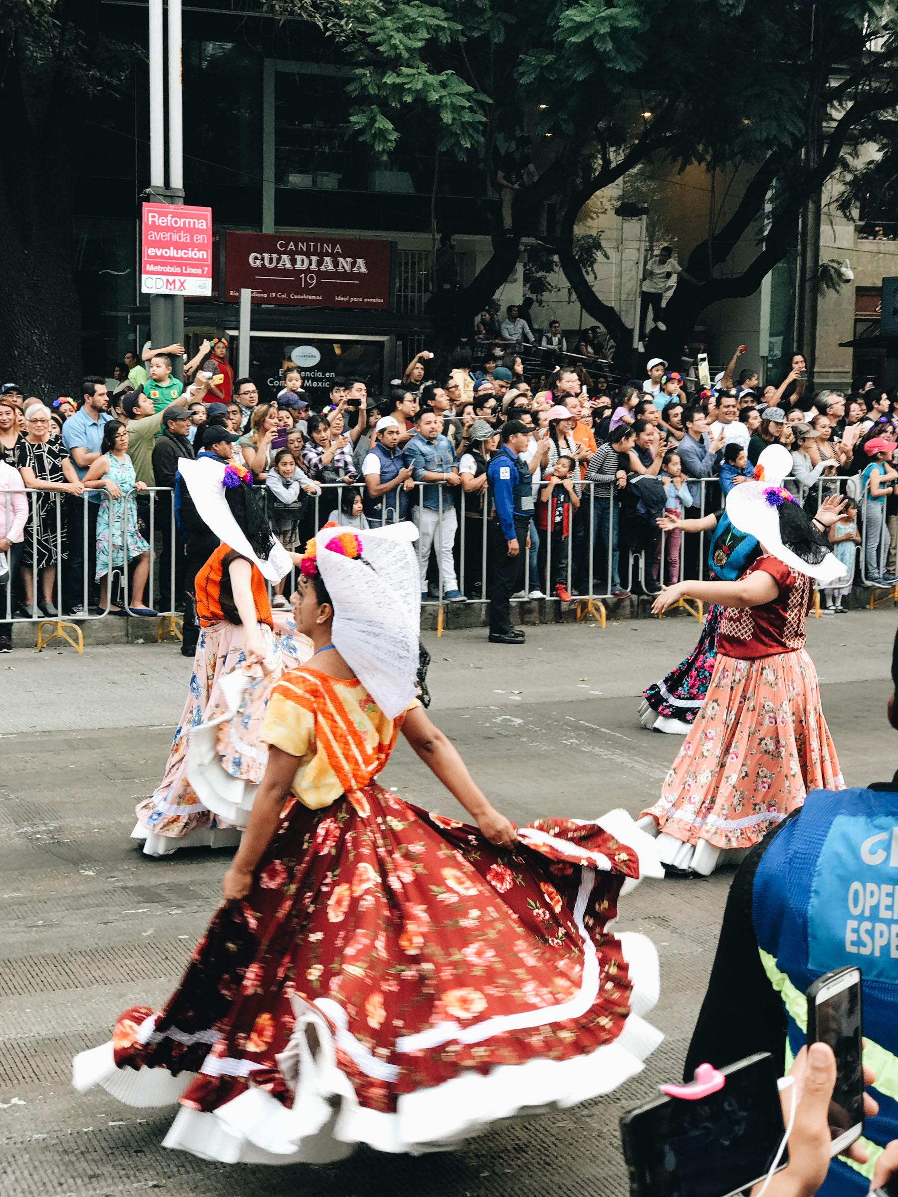 Day of the Dead Parade Mexico City // Notjessfashion.com