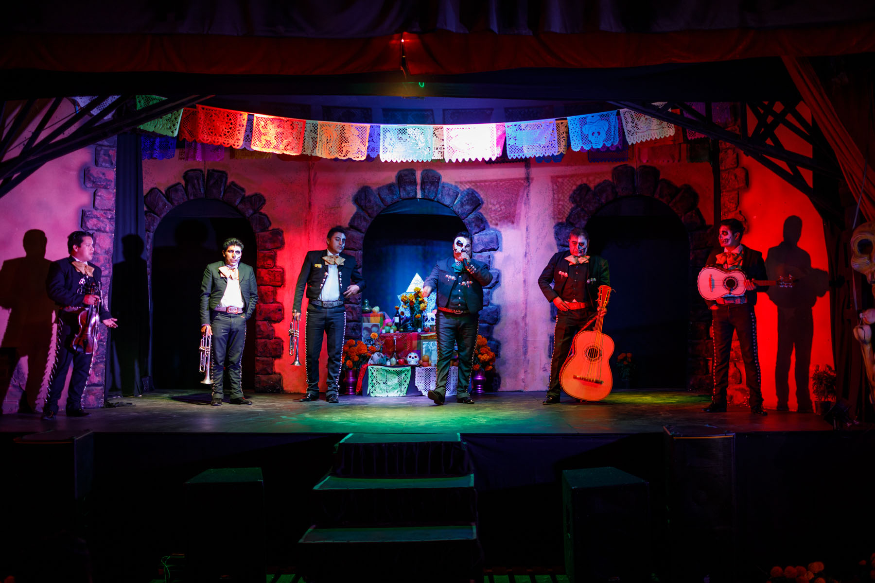 La Catrina en Trajinera Mexico City // Notjessfashion.com