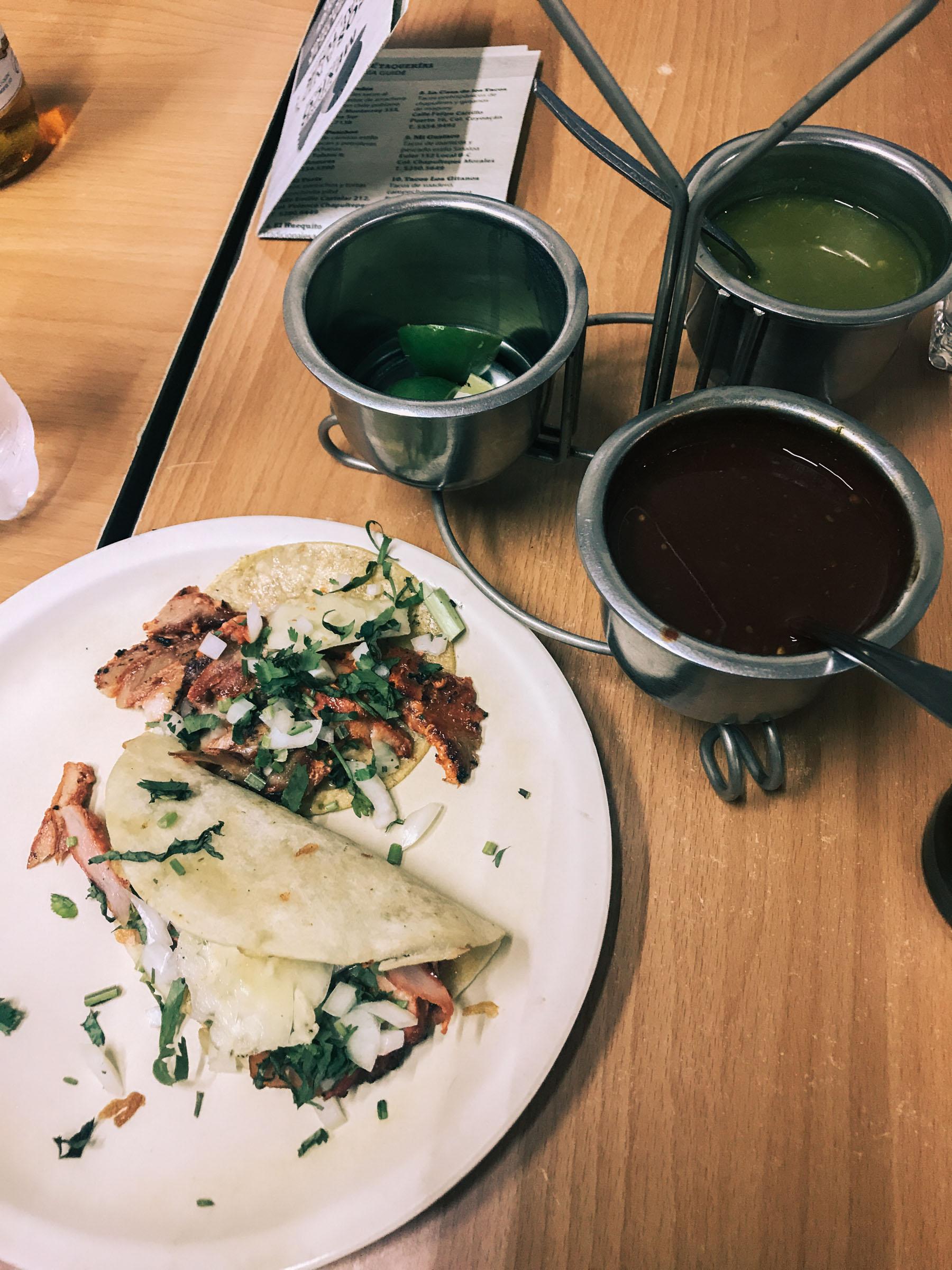 El Pastor Tacos Mexico City // Notjessfashion.com