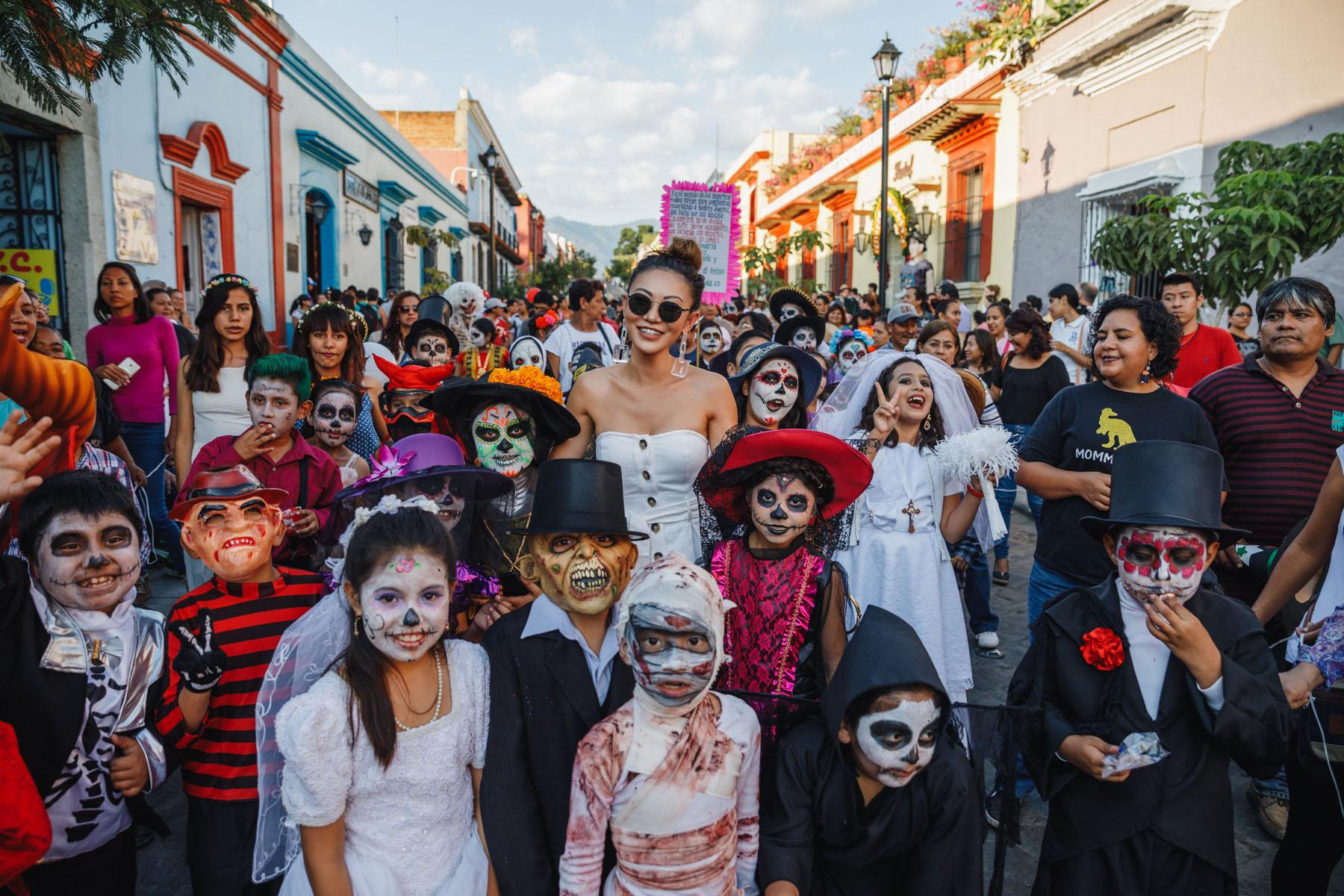 Oaxaca Day of the Dead Celebration // Notjessfashion.com