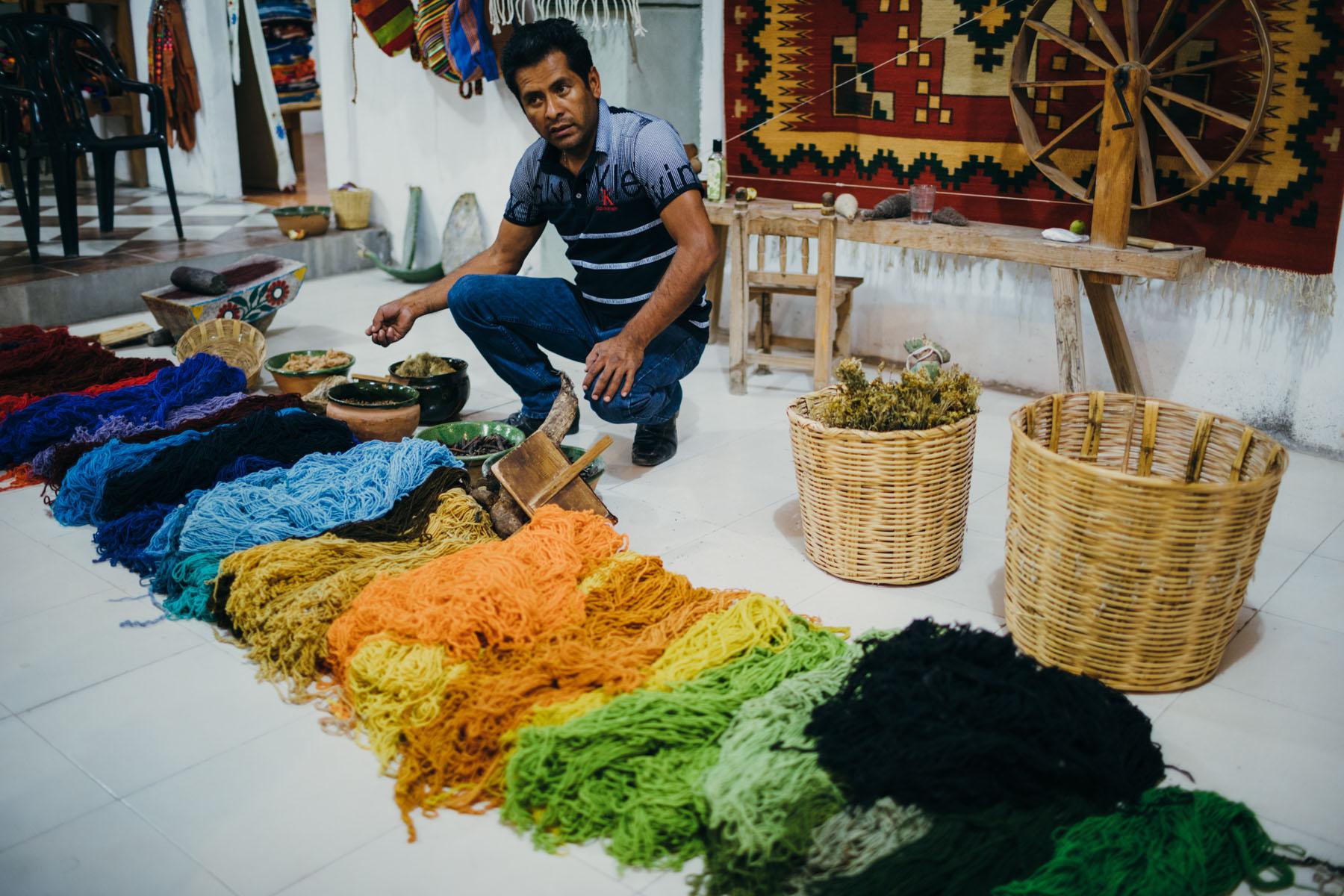 Oaxaca Tapestry Markets Mexico // Notjessfashion.com