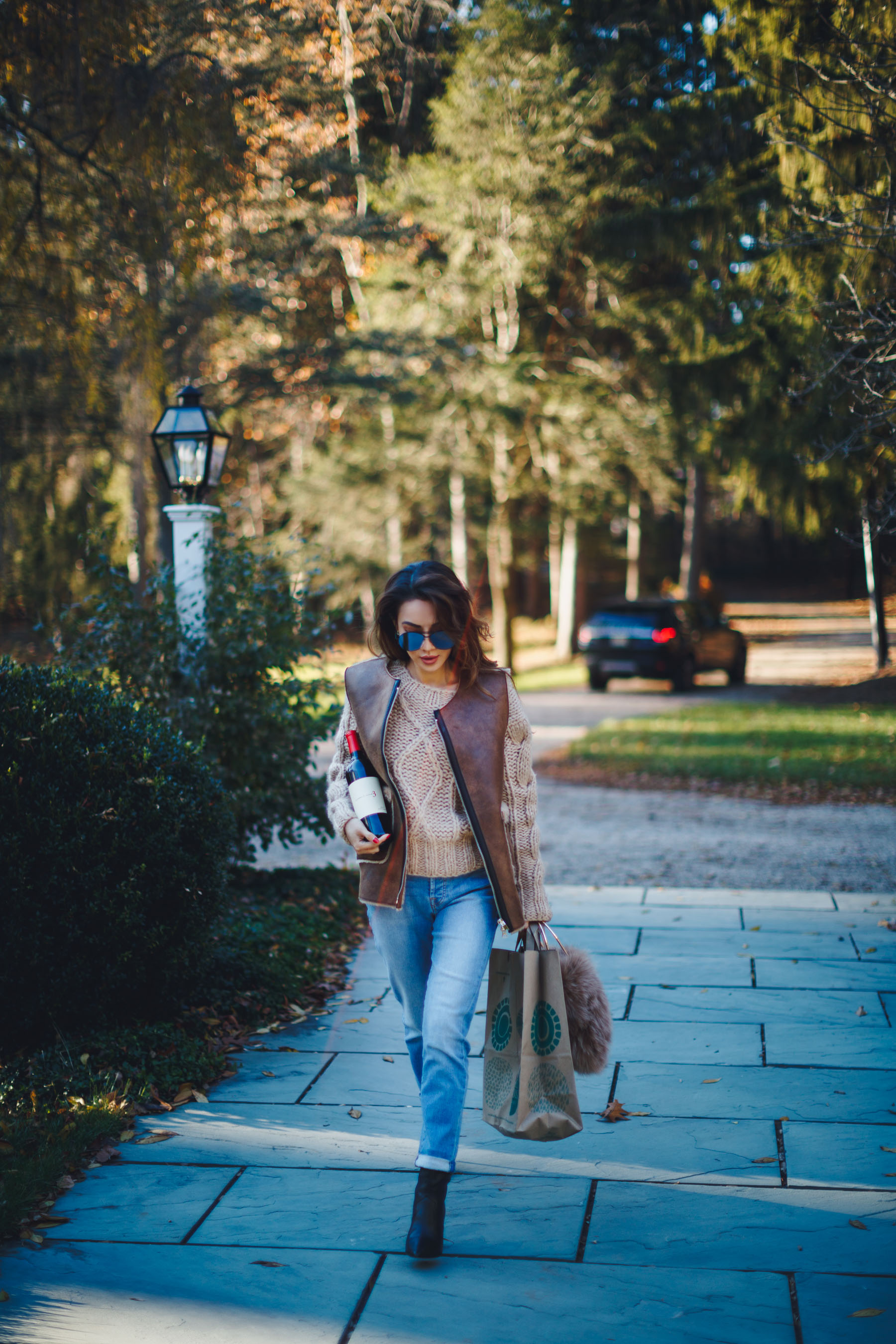 Casual Jeans and Sweater Outfit // Notjessfashion.com