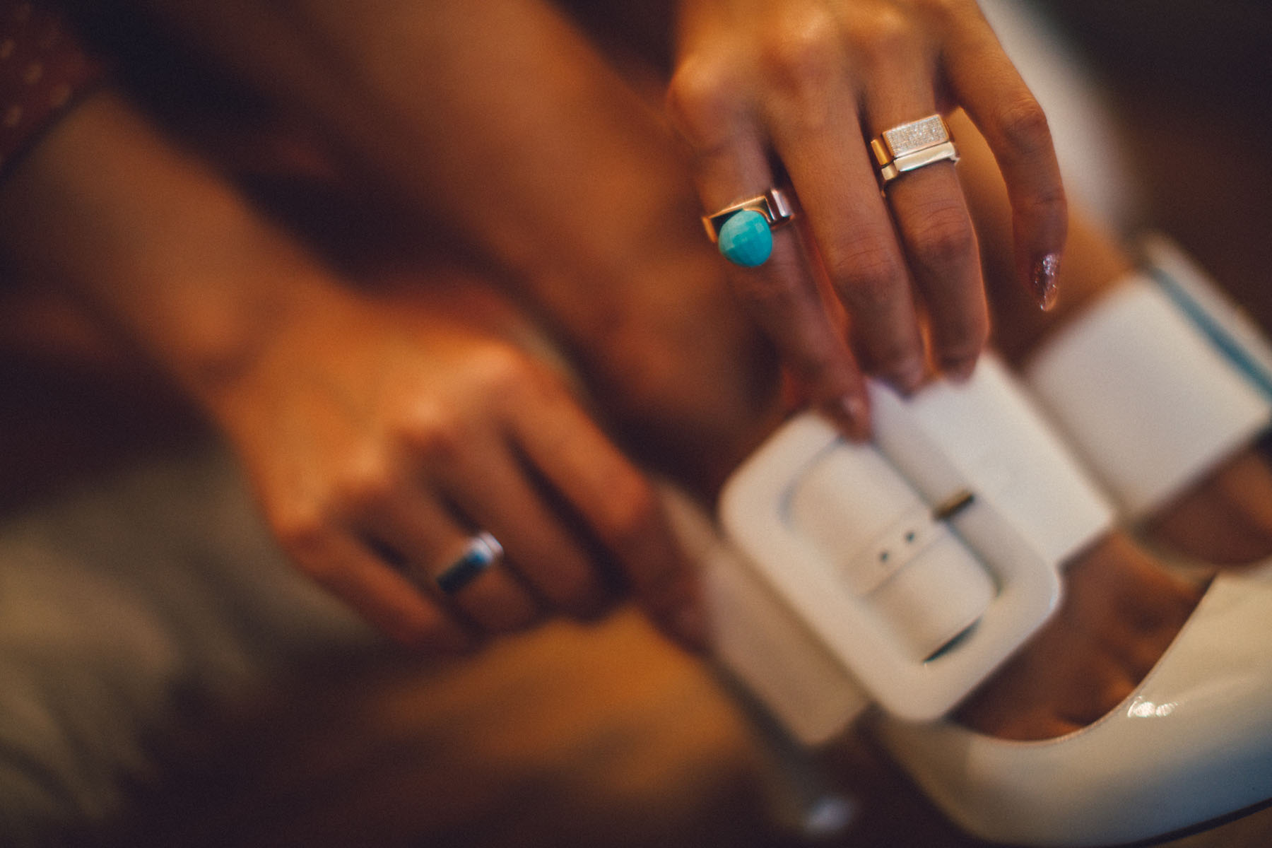 Date Night Jewelry with Monica Vinader Signature Thin Rings and Stone Ring // Notjessfashion.com