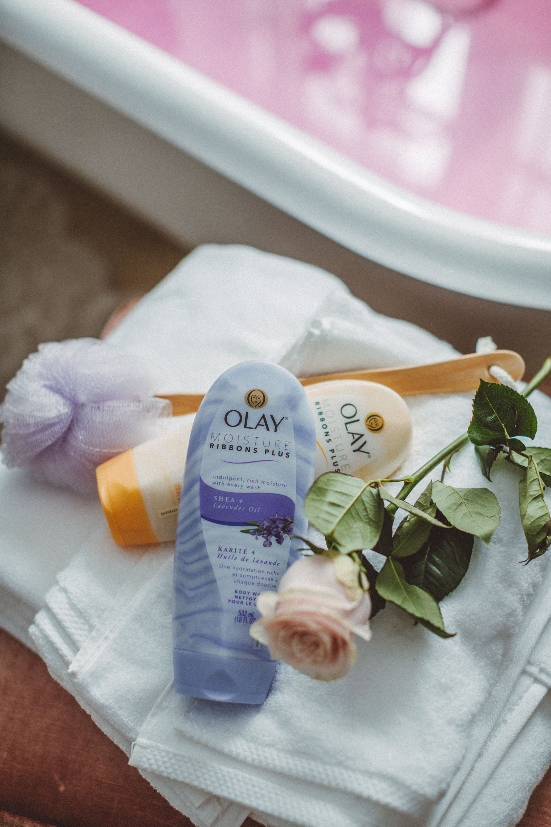 self-care regimen, olay bodywash // notjessfashion.com