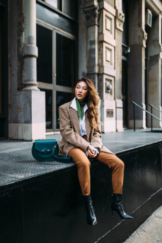 GORGEOUS IN GREEN: HOW TO ADD COLOR TO YOUR WINTER WARDROBE