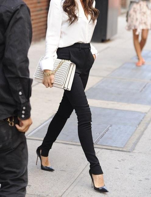 Wardrobe Staples That Make Getting Dressed Easier - Black Trousers // Notjessfashion.com