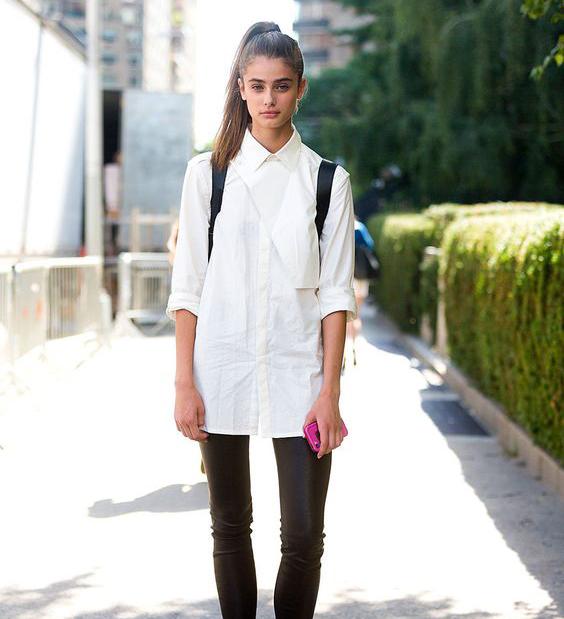 Wardrobe Staples That Make Getting Dressed Easier - Crisp White Button Down // Notjessfashion.com