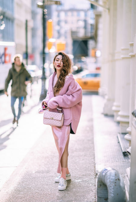 HOW TO PULL OFF SPRING TRENDS IN THE WINTER