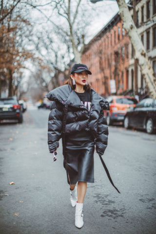 HOW TO LOOK STYLISH IN A QUILTED PUFFER JACKET