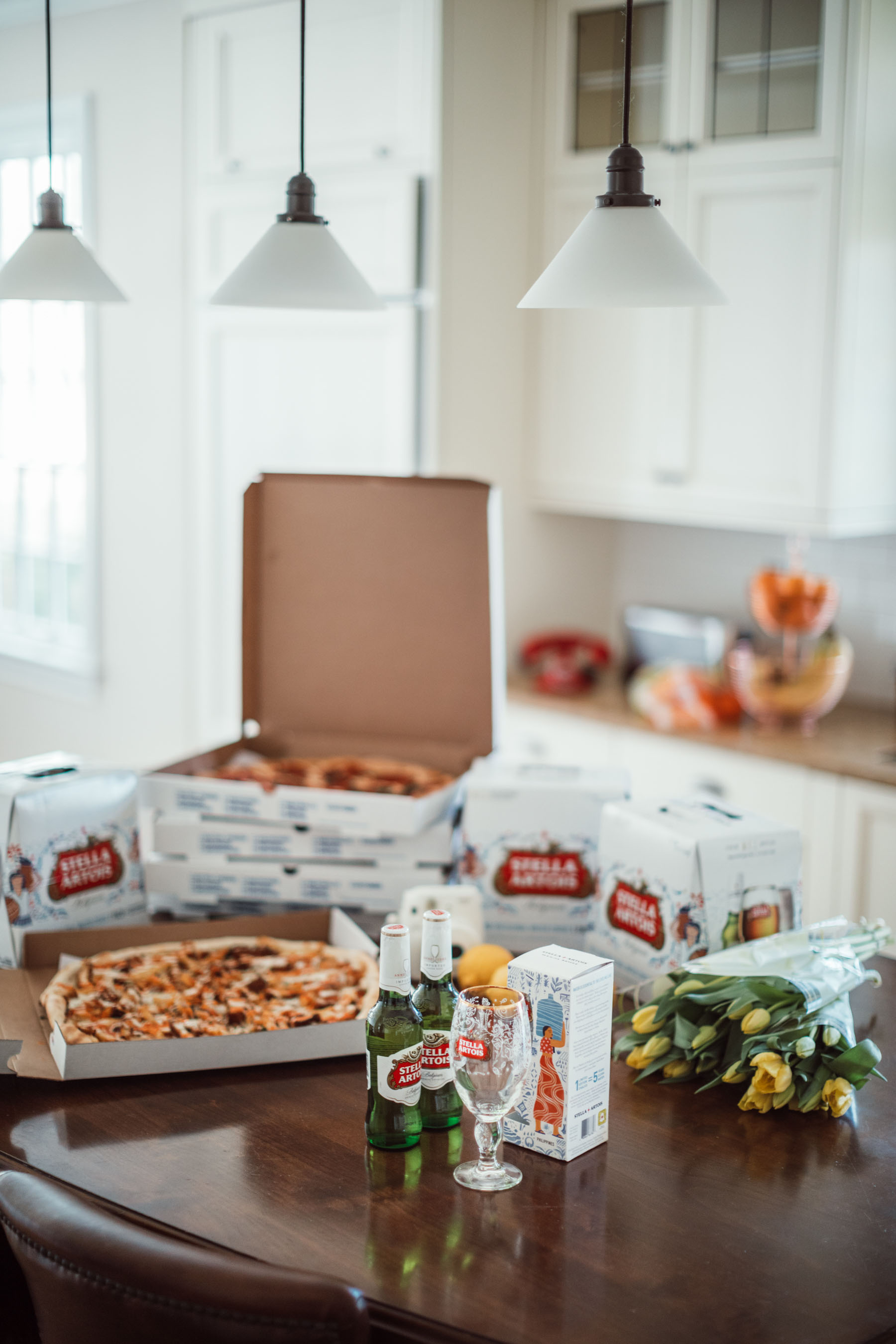 How to Throw a Super Bowl Party That Matters // Notjessfashion // Stella Artois, Super Bowl Party, fashion blogger, new york fashion blogger, jessica wang, stella beer and pizza