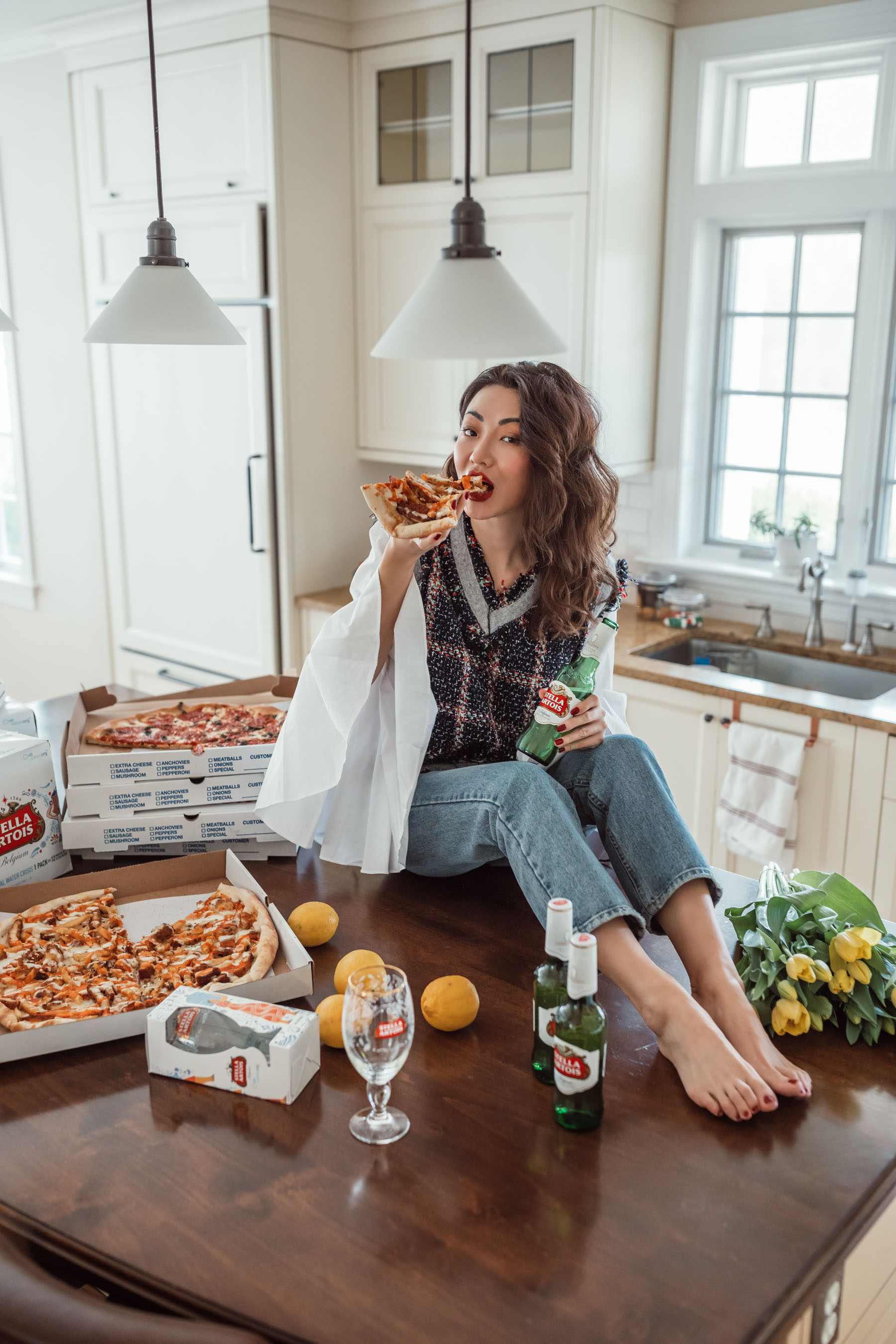 life hack products from amazon, blogger kitchen, stella artois // Notjessfashion