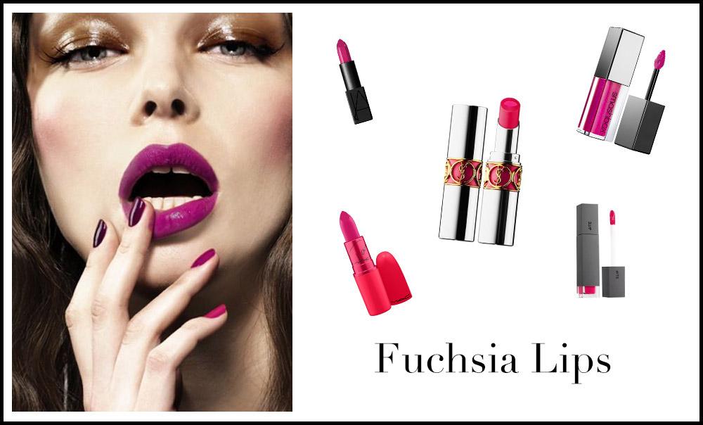 Romantic Valentine's Day Makeup Ideas // Notjessfashion.com // Valentine's Day Makeup, romantic makeup, makeup ideas, bold lip color, fuchsia lipstick