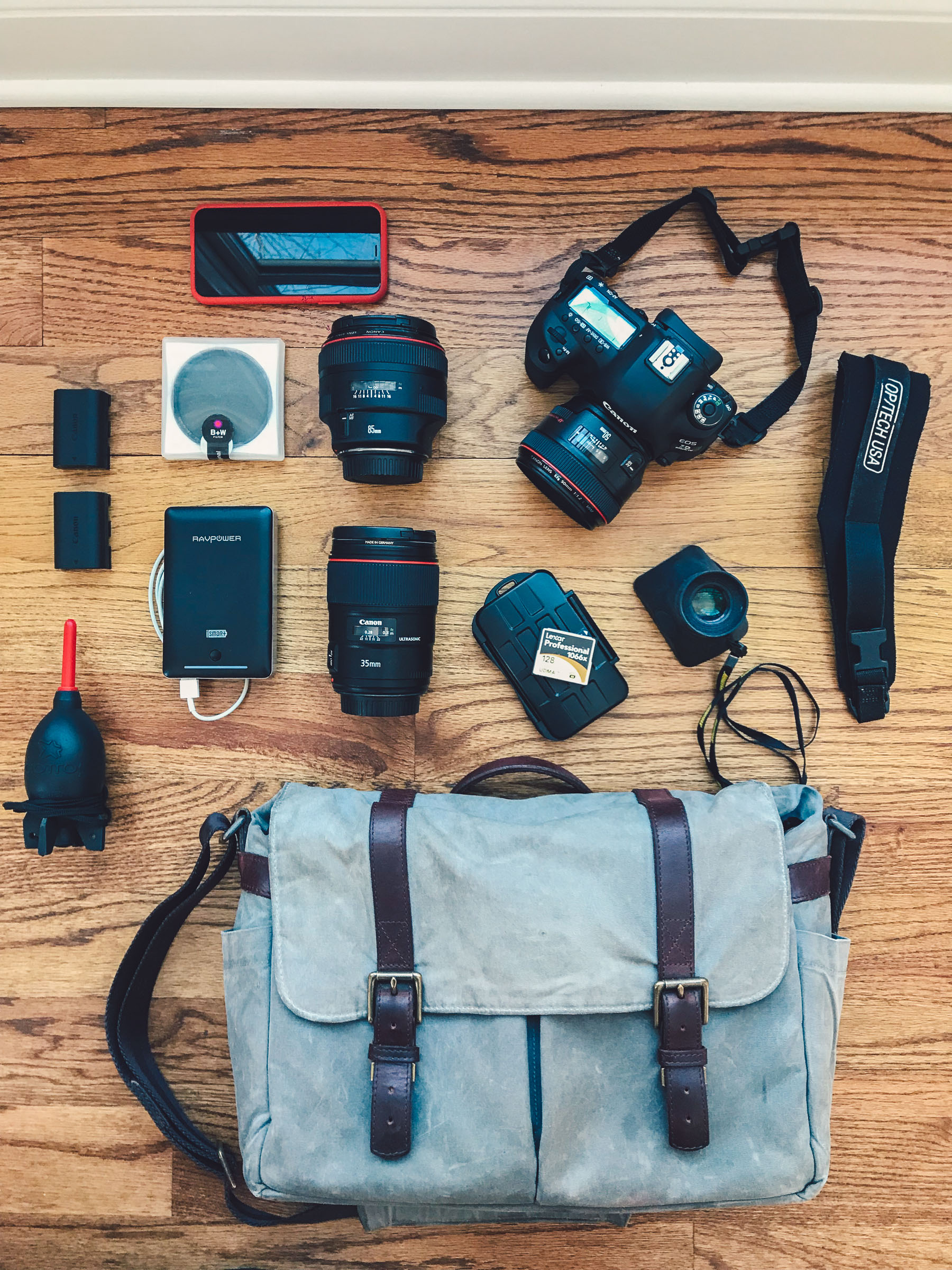 What's in my camera bag? // NotJessFashion.com // camera gear for bloggers, camera gear for beginners, photography for beginners, fashion blog photography, blog photography gear, best canon camera, canon photography gear review, prime lenses, zoom lenses, full-frame camera