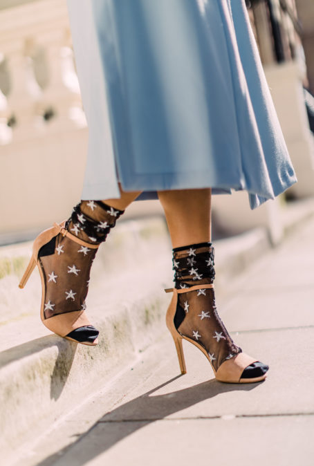 THE SOCKS AND SANDALS TREND IS PERFECT FOR SPRING