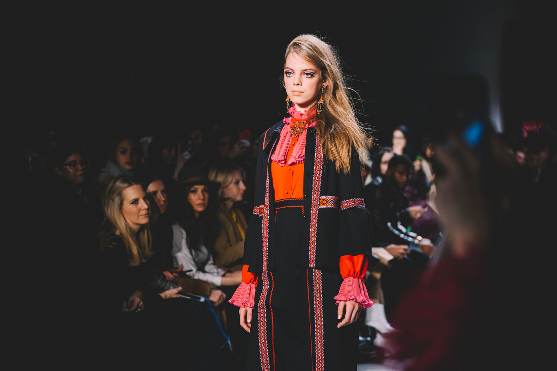 NYFW DAY 5 - Anna Sui Fall 2018 Collection // Notjessfashion.com