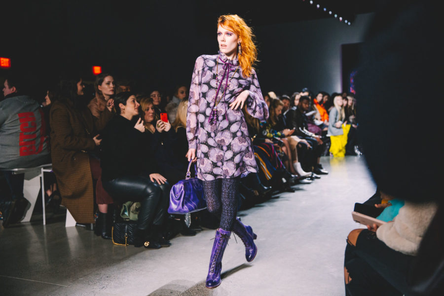 The Best Portable Cameras for Fashion & Travel Bloggers during Fashion Week - New York Fashion Week Runway, Anna Sui FW18 // Notjessfashion.com