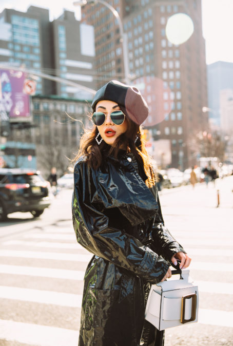 HOW TO WEAR VINYL LIKE A STREET STYLE STAR