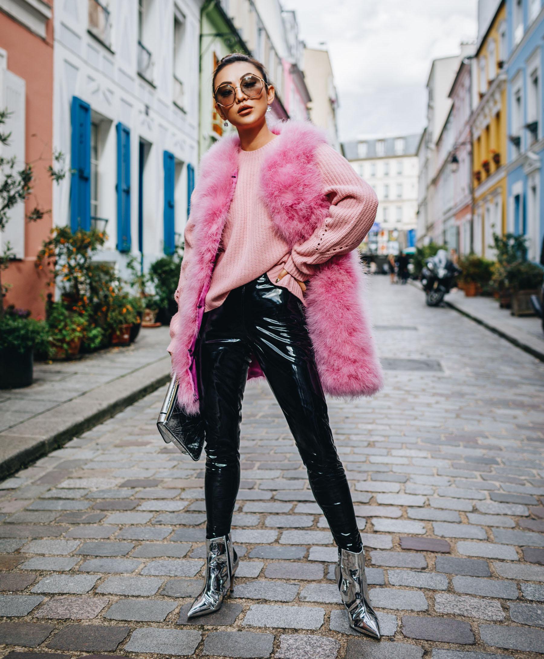 How To Wear Vinyl Like A Street Style Star Notjessfashion
