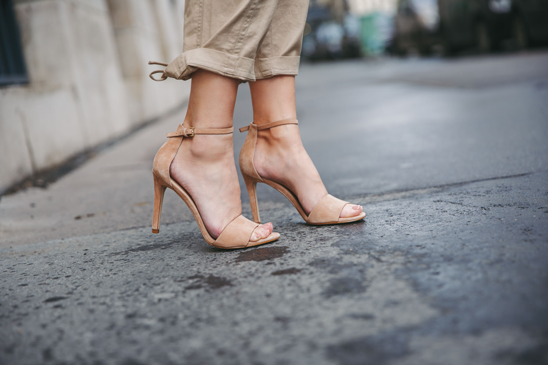 The One Shoe Style Everyone Needs - Nude Sandals, DSW Nude Heels // Notjessfashion.com