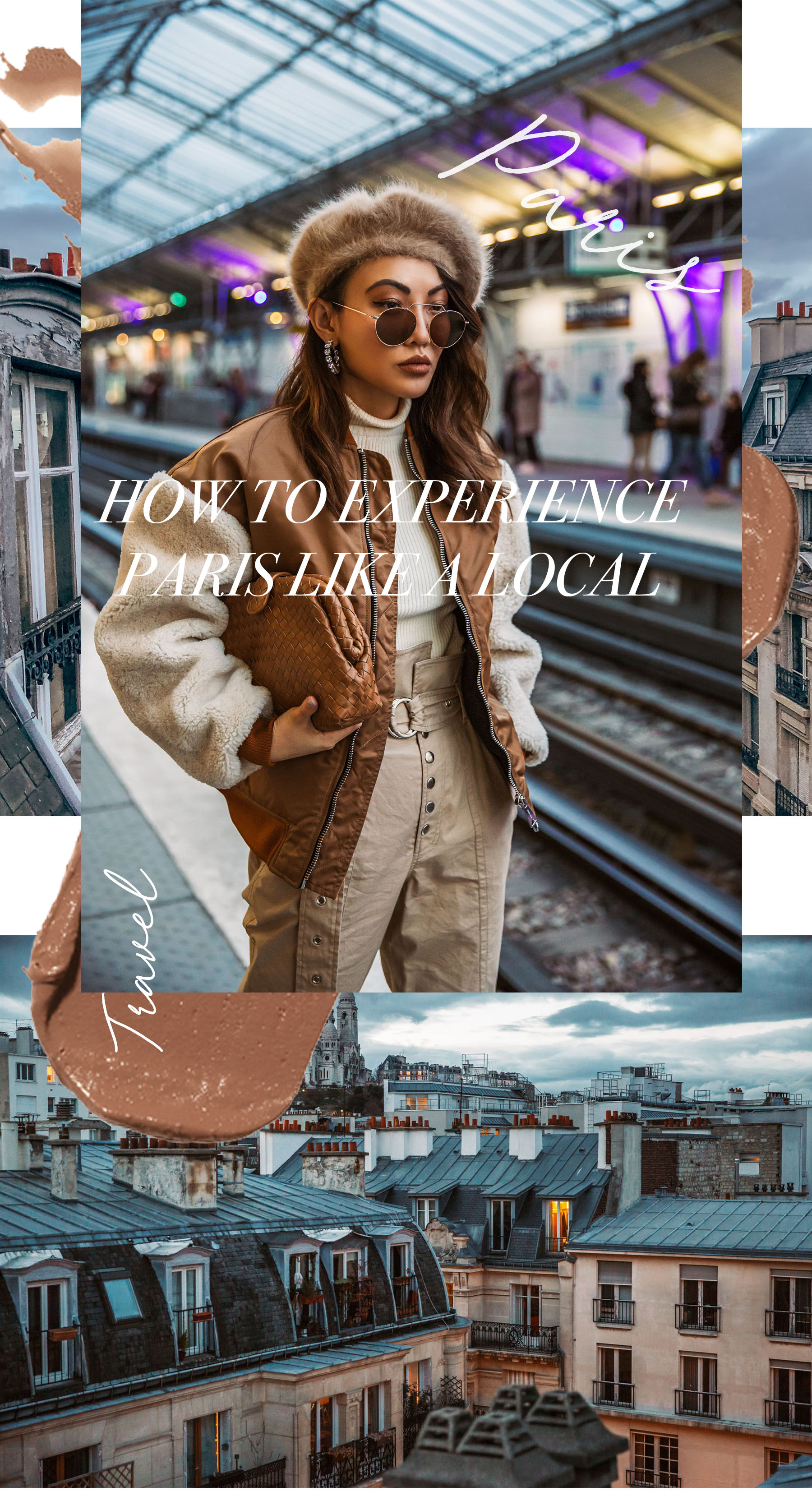 How to Experience Paris Like a Local - Metro Station in Paris // Notjessfashion.com