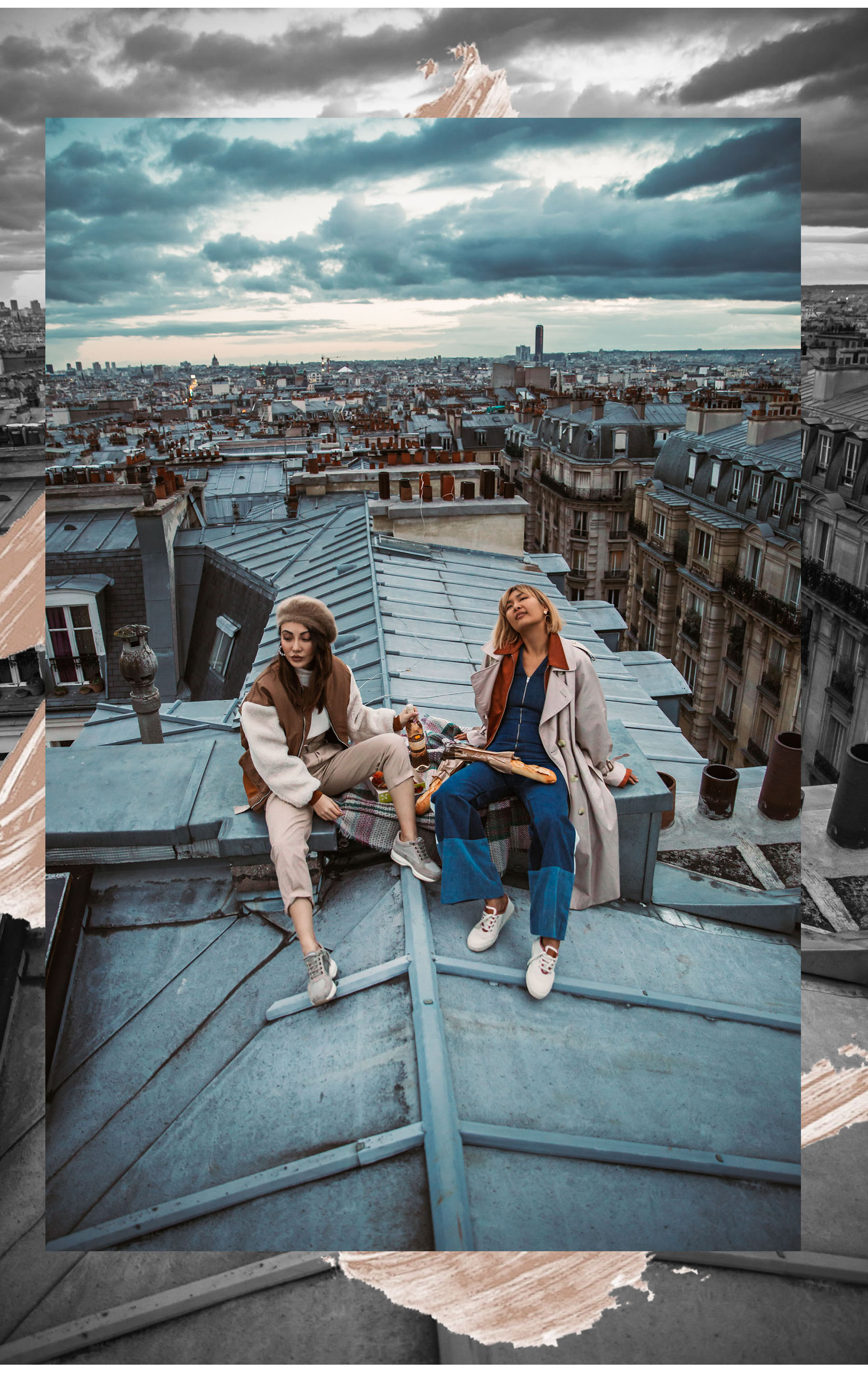 How to Experience Paris like a Local - Rooftops in Paris, Paris Rooftop Picnic // Notjessfashion.com