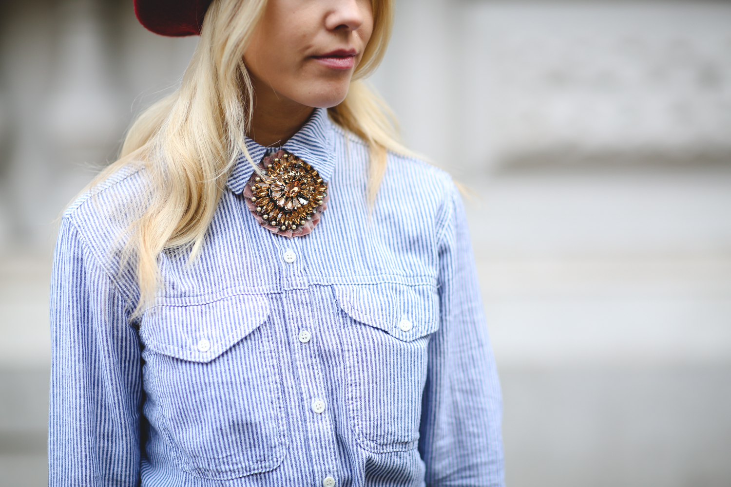 Biggest Jewelry Trends - Brooch // Notjessfashion.com