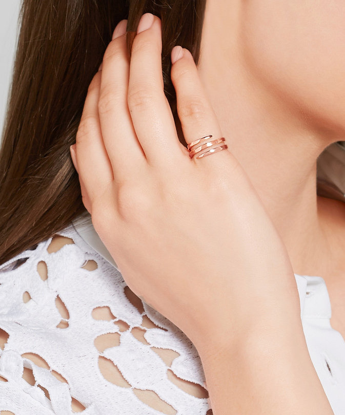 Biggest Jewelry Trends - Pinky rings // Notjessfashion.com