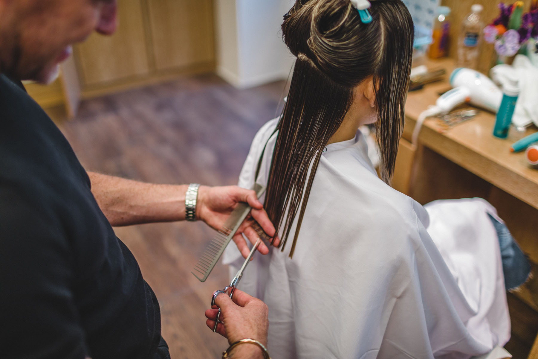 How to Achieve Long Lasting Hair Color - Moroccanoil Color Complete Collection Review, Foilyage hair, Foilyage hair technique // Notjessfashion.com