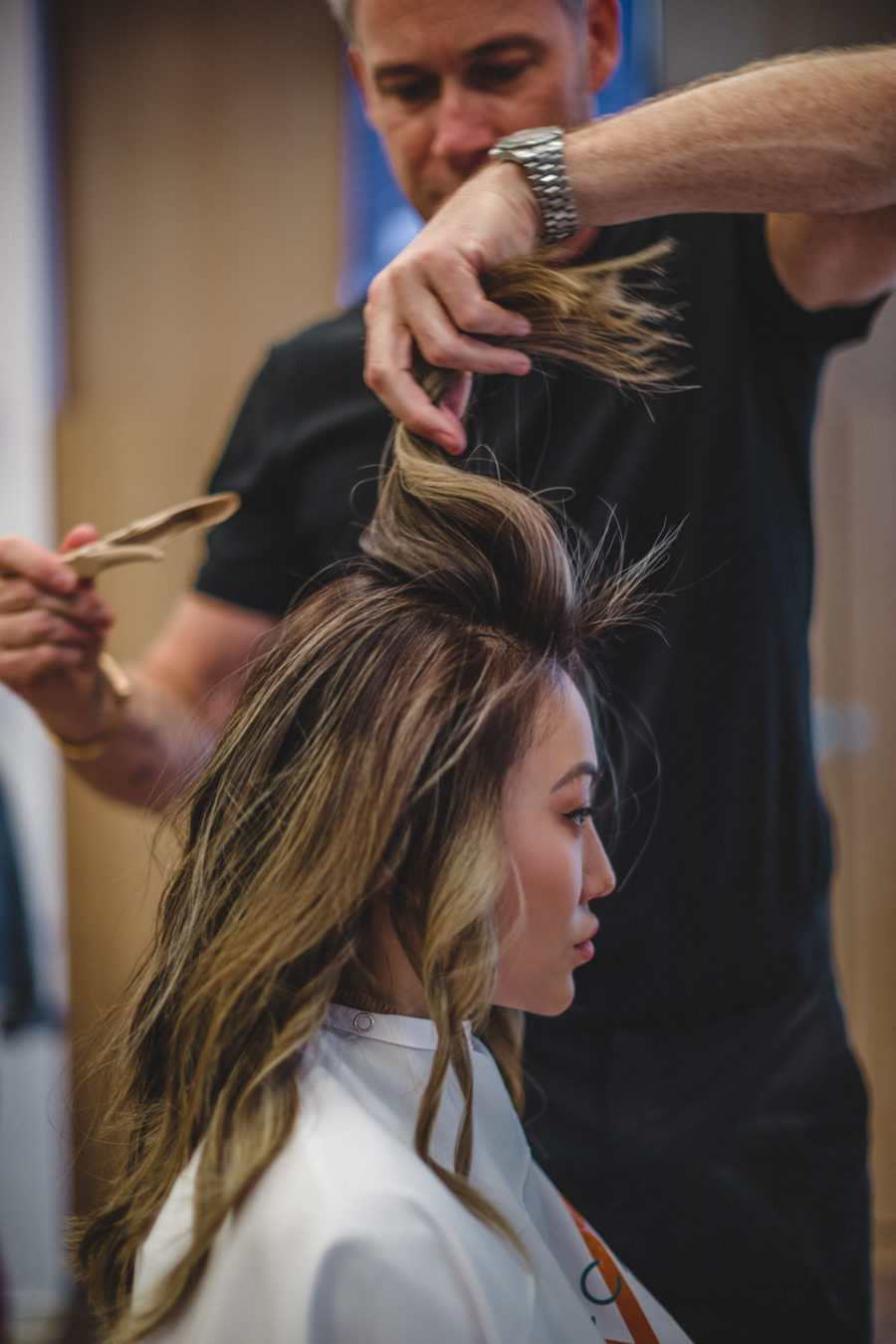 How to Achieve Long Lasting Hair Color - Moroccanoil Color Complete Collection Review, Foilyage hair, Asian Foilyage, Blonde Foilyage // Notjessfashion.com