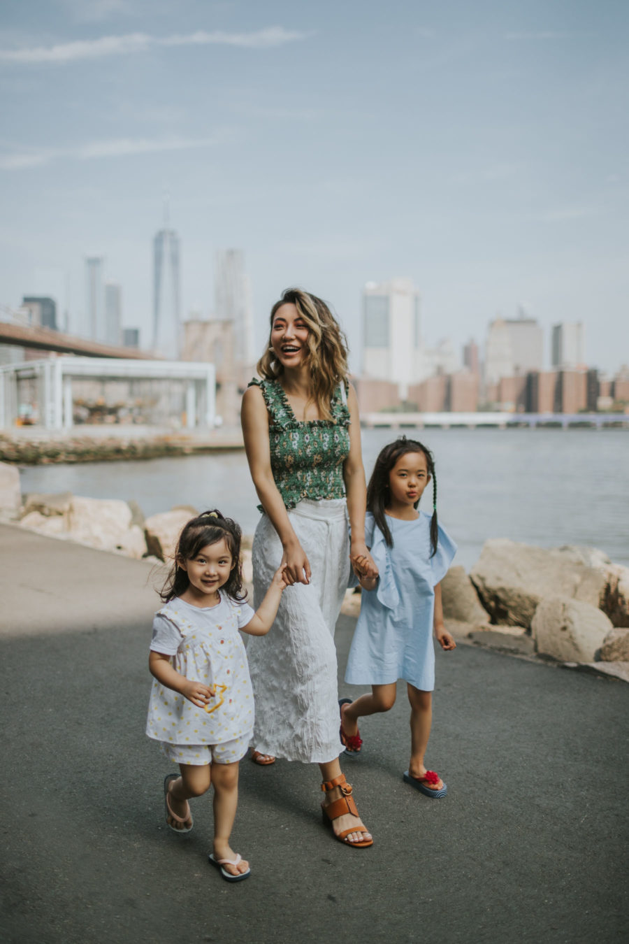 How I Spent My Memorial Day Weekend - smocked top, wrap skirt, summer outfit, casual summer outfit, summer fun // Notjessfashion.com