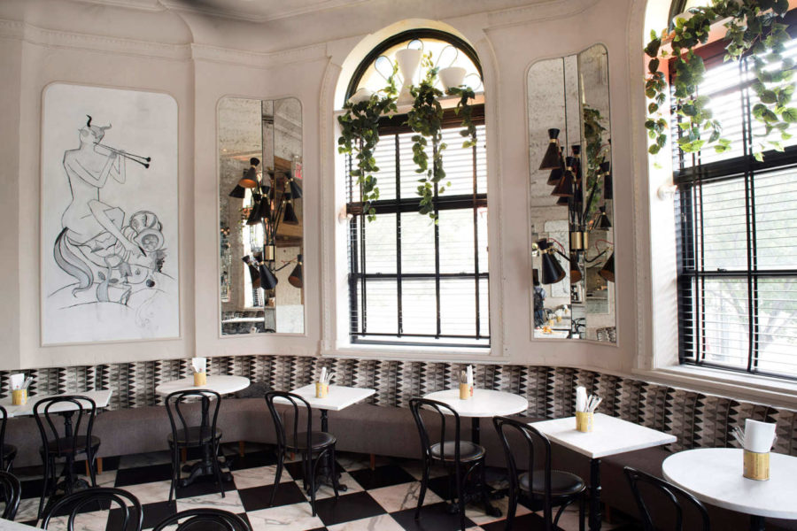 10 Cutest NYC Cafes - Old Rose Cafe Restaurant // Notjessfashion.com