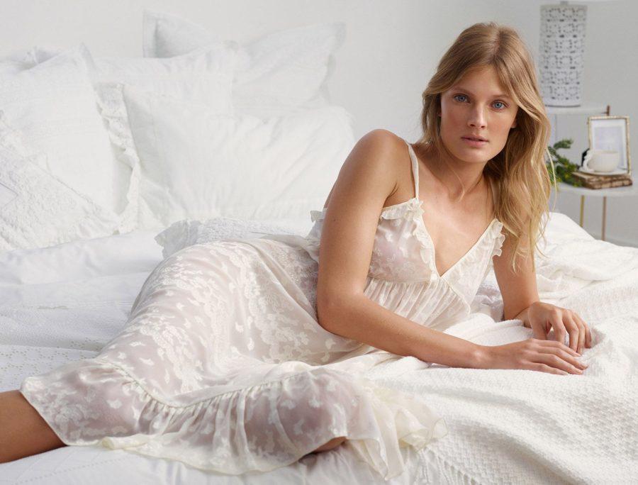 Chic Sleepwear for the Summertime - Zara pajama set, slip dress // Notjessfashion.com