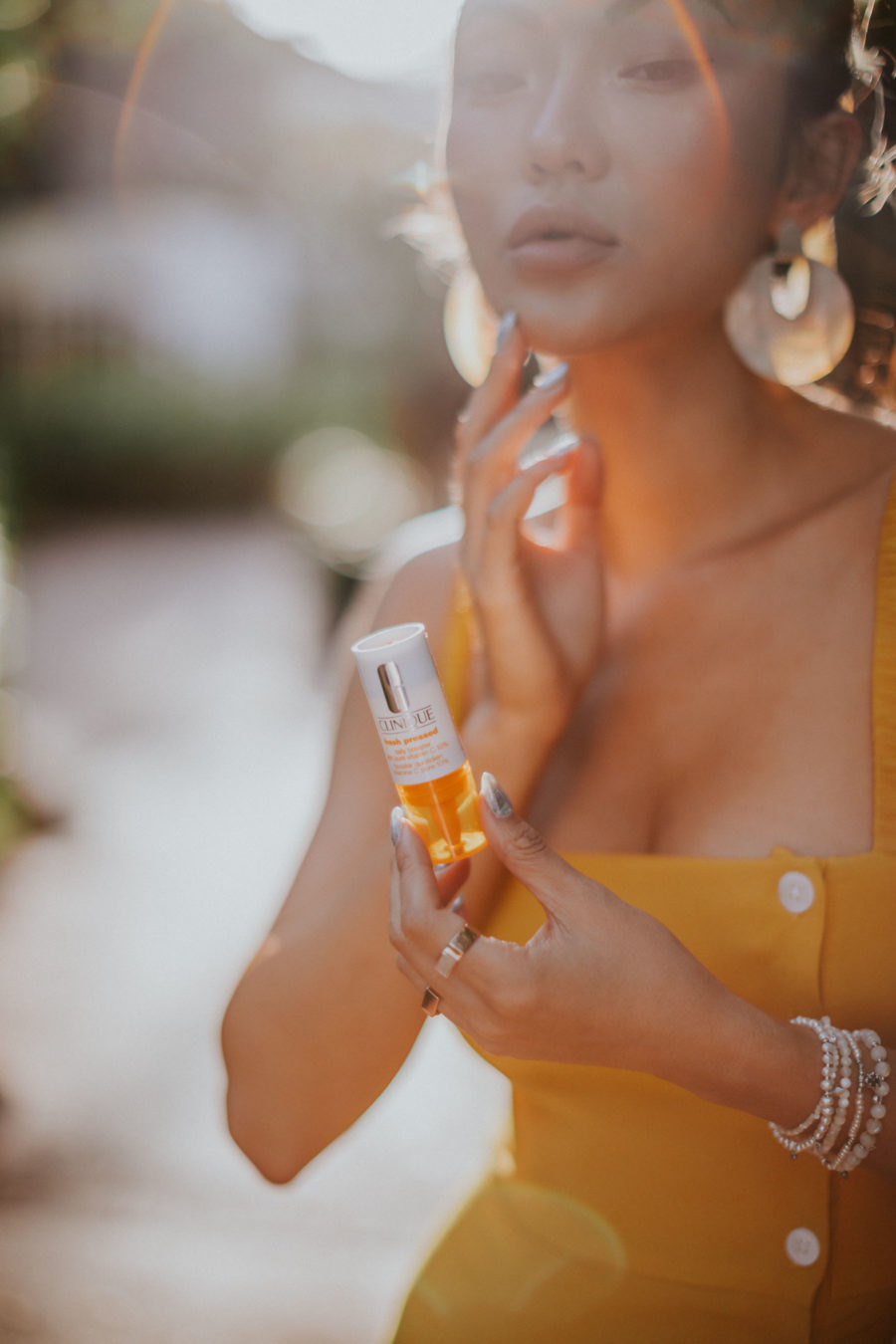 How to Get Smoother and Brighter Skin - Clinique Fresh Press, Clinique Vitamin C Serum, Fairmont Mayakoba // Notjessfashion.com