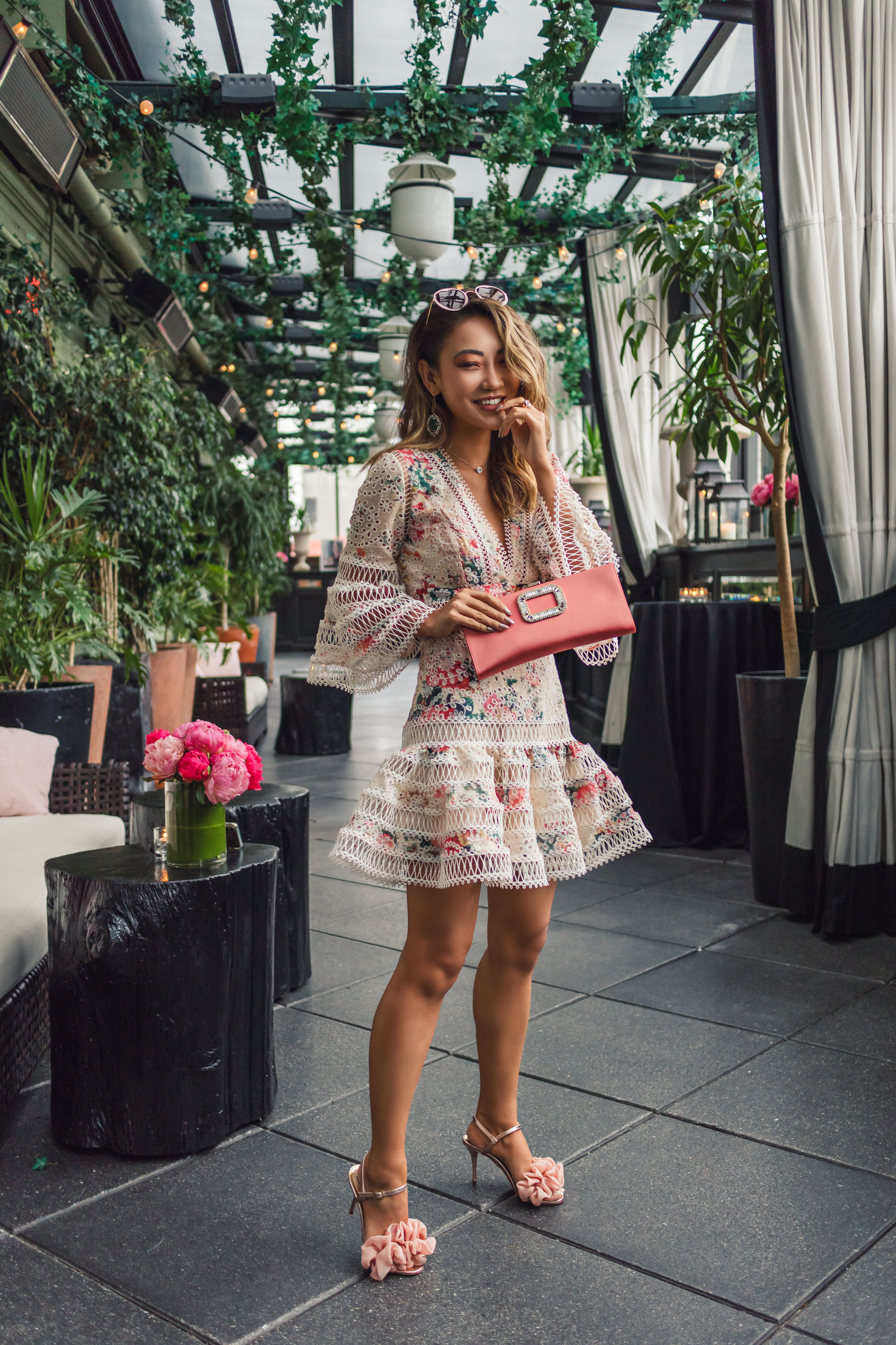 What to Wear to Your Next Blogger Event - Roger Vivier Event, Zimmerman Dress // Notjessfashion.com