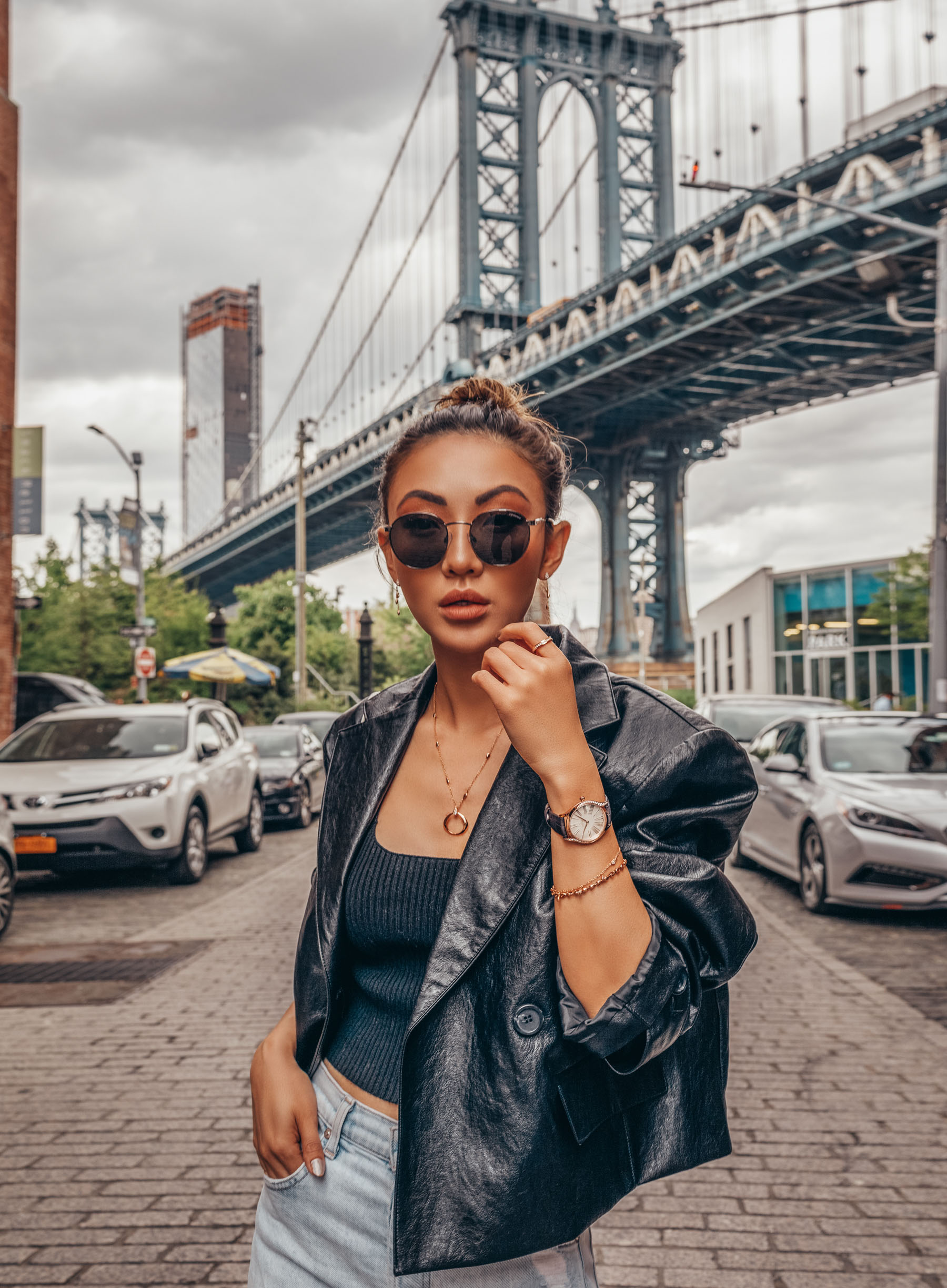 round sunglasses // Notjessfashion.com