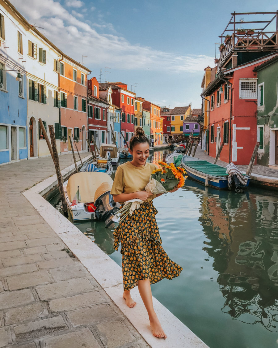 Top 5 Travel Destinations in the Summer - Burano // Notjessfashion.com