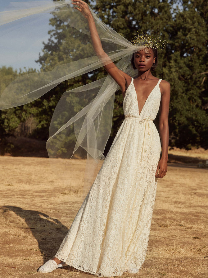Where to Buy the Best Affordable Wedding Dresses, Reformation Wedding Boutique // Notjessfashion.com