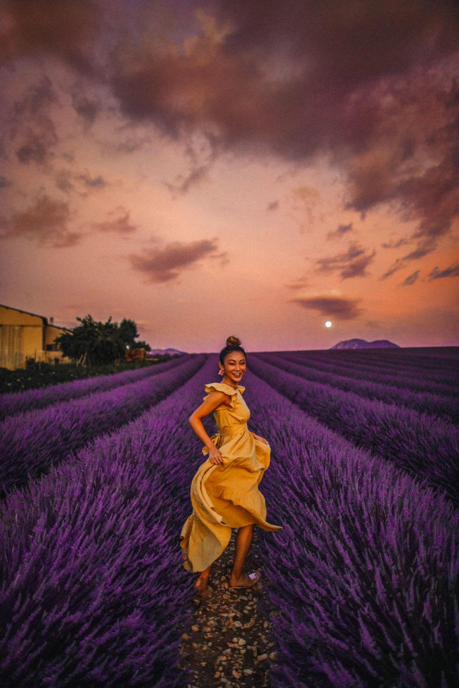 Lavender Fields of Provence, Lavender Fields Instagram // Notjessfashion.com