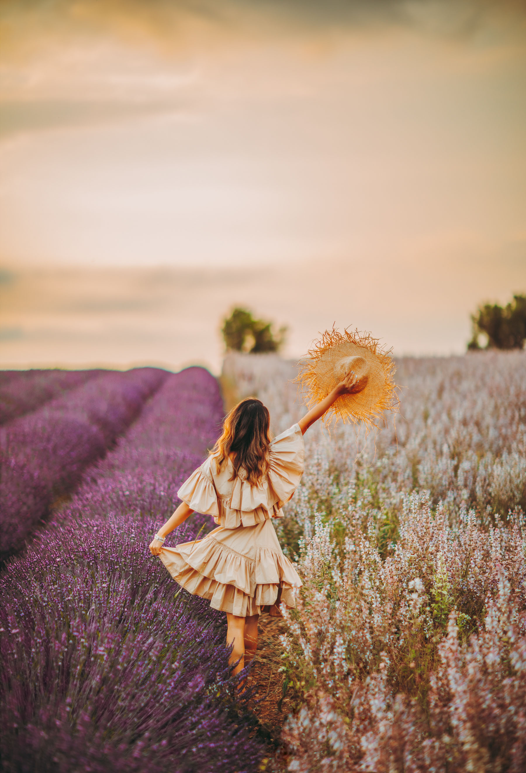 self-care regimen, Lavender Fields Provence, Fashion and Travel Blogger, Phillip Lim flamenco dress // Notjessfashion.com