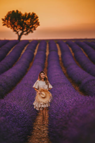 INSTAGRAM OUTFITS ROUND UP: THE LAVENDER FIELDS OF PROVENCE